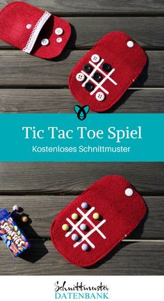 Reisespiel Tic-Tac-Toe Travel Game Tic Tac Toe 3 wins sewing ideas for kids free sewing patterns free sewing instructions Tic Tac Toe, Diy Gifts For Kids, Diy For Kids, Crafts For Kids, Sewing Toys, Sewing Crafts, Sewing Projects, Sewing Ideas, Sewing Patterns Free