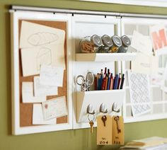 Found them....home office organization from pottery Barn. Daily system