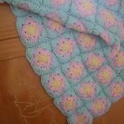 Squares Motif Blanket, Afghan, Baby, Lap - via @Craftsy