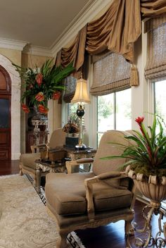 . Tuscan Window Treatments Are Great Home Decor Ideas What Three Things To…