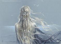 Earwen by EKukanova on DeviantArt Character Inspiration, Character Art, Character Design, Elfa, Art And Illustration, Fantasy Artwork, Fantasy World, Anime Fantasy, Middle Earth
