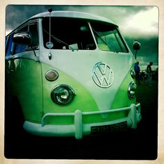 Splitty VW Campervan by JacquiJSB, via Flickr