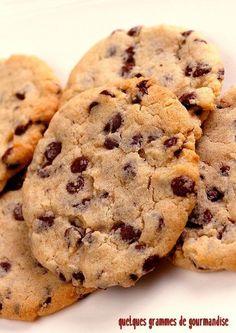 Cookies de Pierre Hermé - http://www.quelquesgrammesdegourmandise.com/cookies-de-pierre-herme/