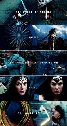 Wonder Woman • Equipment