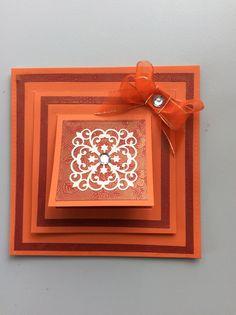 Spellbinders 'Triple Flip Card' Die. Spellbinders Cards, Flip Cards, Sue Wilson, Floral, Frames, Tips, Decor, Xmas, Decoration