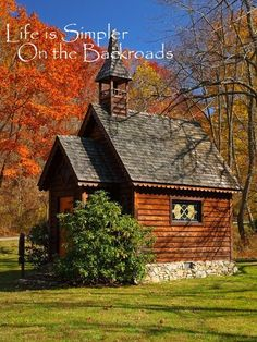 Chapel in the wild--Traveler on the Backroads