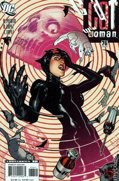 Catwoman (2002 3rd Series) 76 DC Comics Book cover art super heroes villians
