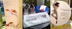 New Balance and Westin partnership for workout shoes and clothing hotel room service