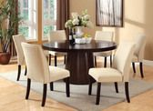 "60"" Round Dining Table Set"