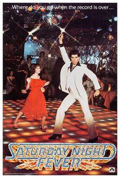 Saturday Night Fever Movie Poster StandUp Display by kiss76, $12.99