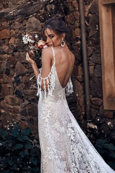 grace love lace 2018 bridal cold shoulder thin strap scoop neckline full embellishment romantic bohemian a line wedding dress backless scoop back sweep train zbv -- Grace Loves Lace 2018 Wedding Dresses Western Wedding Dresses, Sexy Wedding Dresses, Bridal Dresses, Wedding Gowns, Wedding Venues, Prom Dresses, Bridesmaid Dresses, Grace Loves Lace, Bridal Collection