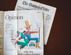 Andrew Colin Beck | Design & Illustration Work for the opinion page of the Boston Globe
