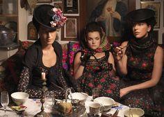 Ladies having tea, charlotte taylor