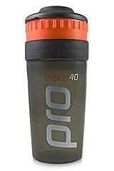 4 Sport Life Pro 40 Shaker (Original) by 4 Sport Life. $13.94. The Shaker Pro 40 Supplement System.  Make a perfect tasting shake every time, guaranteed optimal results.  Freshly prepared shake is made without loss of taste. Powder and liquid are stored separately to be mixed together perfectly. Load the reservoir with powder, fill the large chamber with liquid, put it all together and its ready for use.  Twist the center ring to release the powder and shake vig...