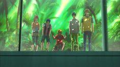 Free! Gou, Rei, Nagisa, Haru and Makoto