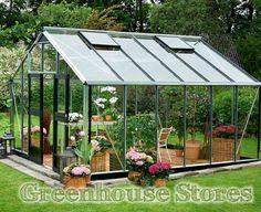 Juliana Silver Gardener 12x14 Greenhouse