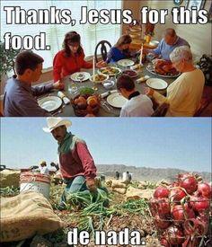 Thanks, Jesus !