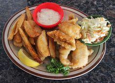 5 o 39 clock club l pewaukee l friday fish fry includes cod for Fish fry brookfield wi