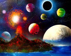 Comment réaliser un tableau en spray art ? Voici une vidéo YouTube de l'artiste mexicain Porfirio Jimenez de spray art. L'art de la peinture en aérosol est l'application de peinture en aérosol sur un matériau non poreux, tel que le bois, le métal, le verre, la céramique ou le plastique. C'est une forme d'art unique que je trouve vraiment exceptionnelle. Quel talent il faut pour cela ! Il présente parfois des paysages surréalistes de planètes, de comètes, de pyramides, de villes et de scènes…
