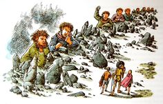 Pauline Baynes chronicles of narnia | Pauline baynes illustrations from the silver chair | The Silver Chair ...