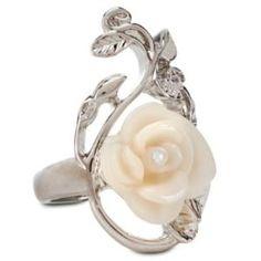 Rose Snow White Ring | Jewelry | Women | Disney Store