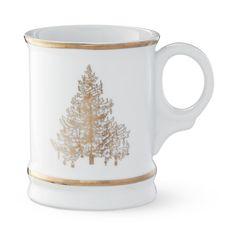 Gold Tree Mugs