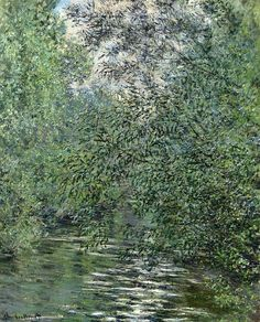 The Willows on the River - Claude Monet just want to live in Monet paintings! Monet Paintings, Impressionist Paintings, Landscape Paintings, Renoir, Claude Monet, Artist Monet, Camille Pissarro, Wassily Kandinsky, Beautiful Paintings