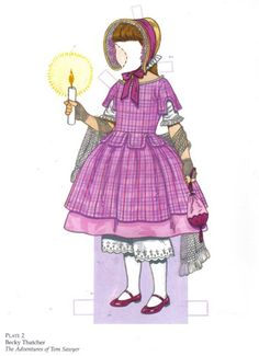 Favorite Storybook Characters - Becky Thatcher