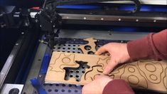 "How to Cut 1/2"" Thick Wood With 50W Chinese Laser Cutter"