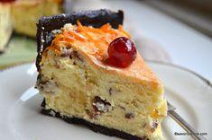 Cheesecake zebră sau rețeta de pască fără aluat (în două culori)   Savori Urbane Pastry Cake, Cata, Something Sweet, Easter Recipes, Cheesecakes, Nutella, Donuts, Food And Drink, Bread