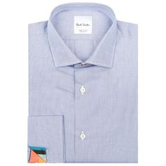 Paul Smith London Fine Stripe Shirt (1,305 HKD) ❤ liked on Polyvore featuring men's fashion, men's clothing, men's shirts, men's casual shirts, mens cotton shirts, mens french cuff shirts, mens striped button down shirts, paul smith mens shirt and mens striped shirt