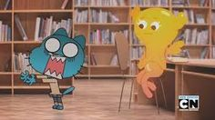 the amazing world of gumball penny turns into a wolf - Google Search