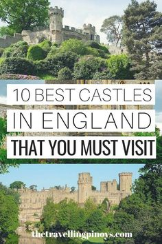 10 Best Castles In England English Castles England Travel Tips England Travel Ideas England Travel Destinations Backpacking Europe, Europe Travel Tips, European Travel, Travel Guides, Places To Travel, Places To See, Travel Hacks, Travel Essentials, Time Travel