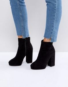 New Look | New Look Platform Heeled Ankle Boot