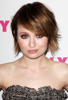 Emily Browning - her hair and makeup are amazing here!  I love the eye shadow.