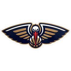 Embellish your outdoor space in striking fashion with this weather-resistant NBA Logo Outdoor Decal. Perfect for displaying your pro basketball team pride, this attention-grabbing graphic decal showcases the colorful logo of your favorite team. Sports Wall, Sports Logo, Outside Fans, Outdoor Logos, Logo Shapes, Brick And Wood, Stick Art, New Orleans Pelicans, Classic Theme