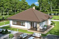 Minimal House Design, Minimal Home, Small House Design, Loft, Village Houses, Home Design Plans, Facade House, Malm, Home Fashion