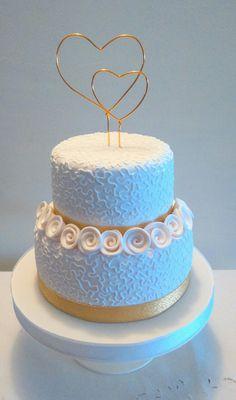 Bodas de oro Aniversary Cakes, Wedding Anniversary Cakes, Camping Theme Cakes, Cake Decorating With Fondant, Engagement Cakes, White Wedding Cakes, Sister Wedding, 70th Birthday, Wedding Album