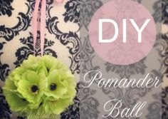 Guest Florist Tracy teaches us How to make a Pomander Ball: http://youtiquebridal.wordpress.com/2014/04/10/diy-flower-girl-pomander-ball-guest-florist-tracy/