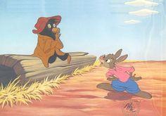 Uncle Remus and the tar baby Disney Magic, Disney Art, Disney Pixar, Disney Characters, Disney Stuff, Walt Disney, Disney Jokes, Disney Cartoons, Rabbit Song