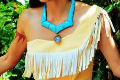 jewels necklace Pocahontas turquoise jewelry diamonds aztec native american dress