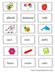 Letter Worksheets, Worksheets For Kids, Romanian Language, Learning The Alphabet, Writing Words, School Lessons, Kids Education, Speech Therapy, Preschool
