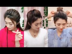 Hair Care Tips and Tricks Cool Hairstyles For Girls, Bun Hairstyles For Long Hair, Elegant Hairstyles, Girl Hairstyles, Braided Hairstyles, Traditional Hairstyle, Juan Pablo Ii, Heatless Hairstyles, Extreme Hair