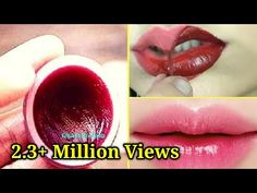 Homemade Lip Balm   Beetroot Lip Balm for Dry and Black Lips - YouTube Homemade Lip Balm, Diy Lip Balm, Homemade Skin Care, Beauty Tips For Glowing Skin, Beauty Skin, Neutral Makeup Look, Natural Skin Whitening, Lip Tips, Dark Spots On Skin