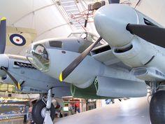 De Havilland Mosquito at RAF Hendon, UK