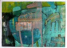 acryl en lak op hout, 50 cm x 70 cm. Zie www.mus-atelier.nl