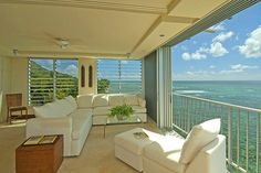 A beach front living room to die for...as long as you are not afraid of tsunamis or erosion.
