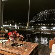 Love this place! One of Sydney's hidden bars with a beautiful uninterrupted view of the Sydney Harbour Bridge. If you want to be away from the crowds this is the place to go #thetheatrebarattheendofthewharf #walshbay #sydney #sydneybars #sydneyharbour #sydneyharbourbridge #harbourbridge #bars #chilling #friends #instadrinks #instafood #lunch #dinner #supper #kazfoodie #hiddenbars by kazfoodie http://ift.tt/1NRMbNv