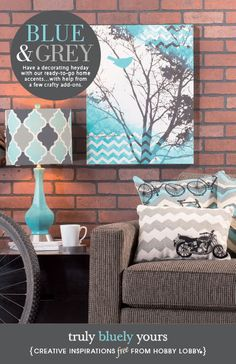 HobbyLobby Projects - Truly Bluely Yours