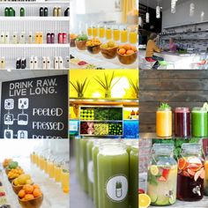 Design Inspiration: Juice Bar